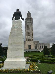 Huey Long, Baton Rouge, State Capitol